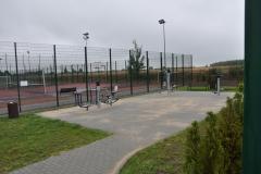 Budowa siłowni zewnętrznej przy kompleksie sportowo - rekreacyjnym w Rząśni