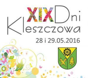 Zaproszenei na XIX Dni Kleszczowa