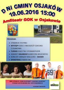 Zaproszenie na Dni Osjakowa