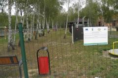 Rozwój lokalnej infrastruktury sportowo-rekreacyjnej poprzez doposażenie placu zabaw wraz z utworzeniem siłowni zewnętrznej w miejscowości Kolonia Lisowice
